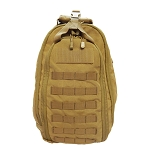 Ambidextrous Solo Sling Backpack Pack Concealed Bag Molle Sling Bag - Tan