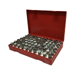 .751 - .832''  82 Pc  M5 MINUS Steel Pin Gage Set Gauage Metal Puncher Punch