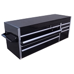Heavy Duty 56''  Metal Tool Chest Cabinet 7 Bbs Drawers Tool Storage Box-BLACK