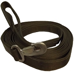 HD 8 Ton NYLON Tow Strap Rope Tie Down w/ Hook & Loop 22 FT - OD Green