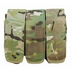 MULTICAM - MOLLE 7.62mm 5.56mm TRIPLE Mag Pouch Magazine Close Flap Pouch Pals