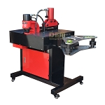 3 In 1 Busbar Machine Cutter, Puncher, Horizontal and Vertical Bender 35-50 Ton