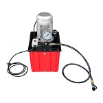 10,000 PSI Electric Hydraulic Pump Single Acting Manual Hand Operated