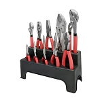 Steel Pliers Wrench Set 10 Pc Non-Slip Grip Handles Pliers Tool