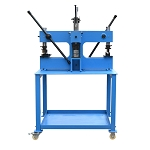 3 Ton Manual Quad Bench Press Shrinker Stretcher Brake Bender Corner Puncher Multi-Purpose Metal Former Shaping Tool