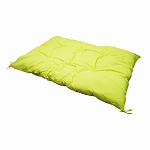 Square Indoor / Outdoor Neon Yellow Hammock Replacement Sunbed Chair Cushion