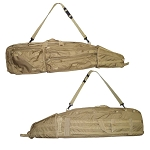 MOLLE Sniper Drag Bag Rifle Gun Case - Tan
