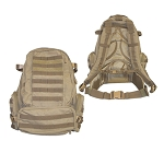 MOLLE 3 Day USMC Assault Pack Backpack - Coyote TAN