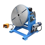 -45 - 90 Degree Welding Positioner Welder Turn Table Tilt Foot Pedal 1,100-  550 lbs Load Cap.110v