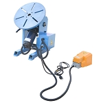 0-135° Welding Positioner Welder Turn Table Tilt Foot Pedal 220 - 480lbs Load Cap.110v