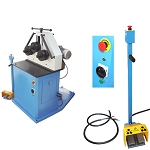 3 Phase Asynchronous 2HP HV Ring Roller Pinch Roll Bender Bending Steel Machine Square Round Tube
