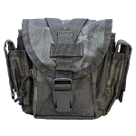 Molle Tactical Mag Storage Dump Pouch Universal Attachment Rugged Black Multicam