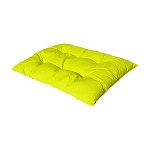 Replacement Cushion for Egg Shape Wicker Swing Chair Soft Pillow - NEON YELLOW