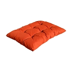 Replacement Cushion for Egg Shape Wicker Swing Chair Soft Pillow - ORANGE