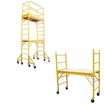 Multi Use Set Rolling Drywall Scaffolding Scaffold Guard Outriggers 12