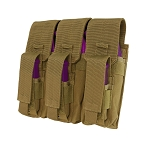 COYOTE Triple MOLLE Tactical Military Holster Mag Pouch