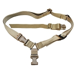 Molle Tactical Quick Release One Point Rifle Sling - Tan
