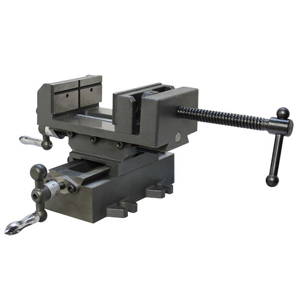 "4"" X-Y Compound Cross Over Slide Sliding Drill Press Vise Milling Drilling 2 WAY"