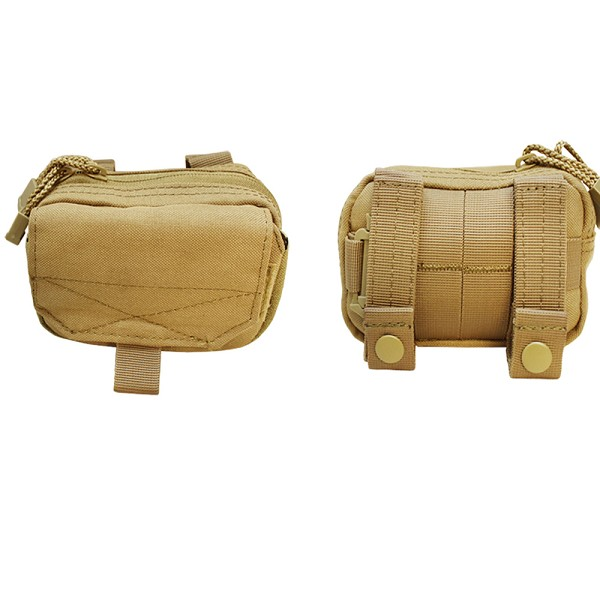 new concept 1106f 2d4b2 TAN Molle Tactical DIGI Pouch GPS IPOD MP3 Cell Phone Case Cover Small Bag