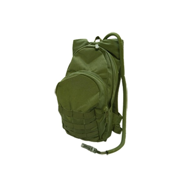 Molle Hydration Backpack Hydration Carrier w/ Bladder Tactical H20 Pack - OD GREEN