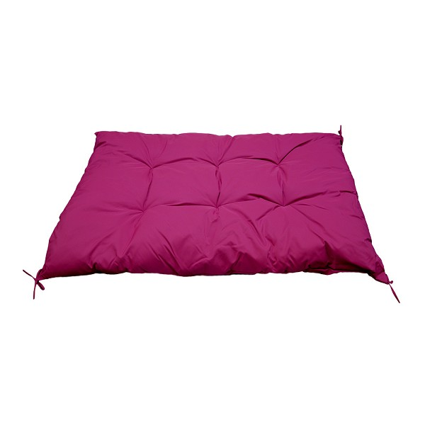 Square Indoor / Outdoor Magenta Hammock Replacement Sunbed Chair Cushion