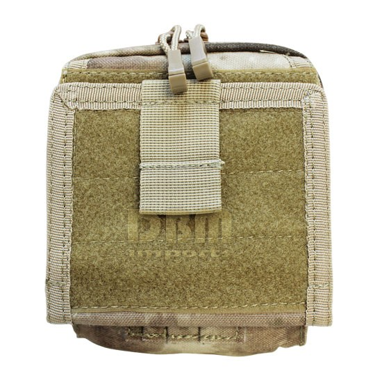 Molle Tactical Map Pouch Id Admin Chart Case Atlas Clear
